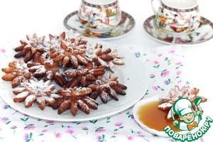 Фасолевые хризантемы домашний пошаговый рецепт с фото