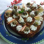 Итальянский яблочный пирог