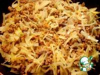 Творожный пирог с мясом и капустой в мультиварке ингредиенты