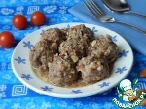 Как приготовить Мясные клецки в миндальном соусе вкусный пошаговый рецепт с фотографиями