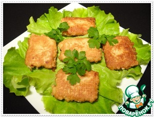 Как готовить Рыбные шницели домашний пошаговый рецепт с фотографиями