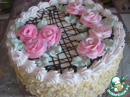 Шоколадный торт с муссом