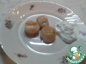 Рецепт Жареный морской гребешок
