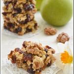 Клюквенно-яблочное печенье