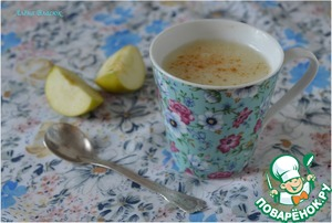 Рецепт Молочно-яблочный кисель