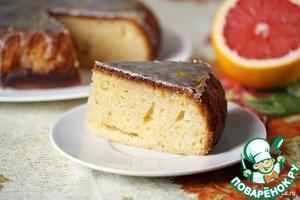 Рецепт Грейпфрутовый пирог