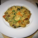 Кус-кус с овощами и грибами (постное блюдо)