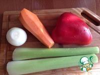 Ароматный рис с овощами и фрикадельками ингредиенты