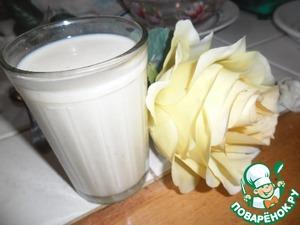 Рецепт Фруктовый коктейль с корицей