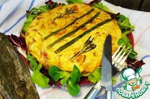 Рецепт Запеканка из тыквы с беконом