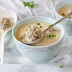 Кукурузный густой суп с фрикадельками в мультиварке