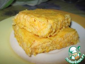 Рецепт Творожно-морковная запеканка