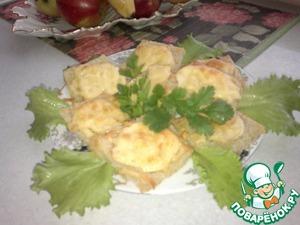 Рецепт Гренки с сыром и яблоками