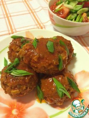 Мясные шарики с диким рисом домашний пошаговый рецепт приготовления с фото как приготовить