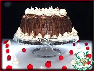 Рецепт Торт шоколадно-кофейный с безе