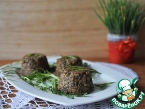 Рецепт Рисовые маффины с грибами и тофу