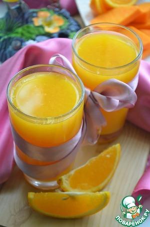Рецепт Тыквенно-апельсиновый сок