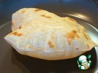 Индийские лепешки «Чапати» ингредиенты