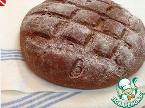 Рецепт Ржаной хлеб на закваске по старинному русскому рецепту