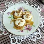 Десерт из картофеля с тахинной пастой