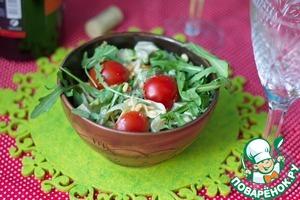 Рецепт Салат из авокадо и рукколы