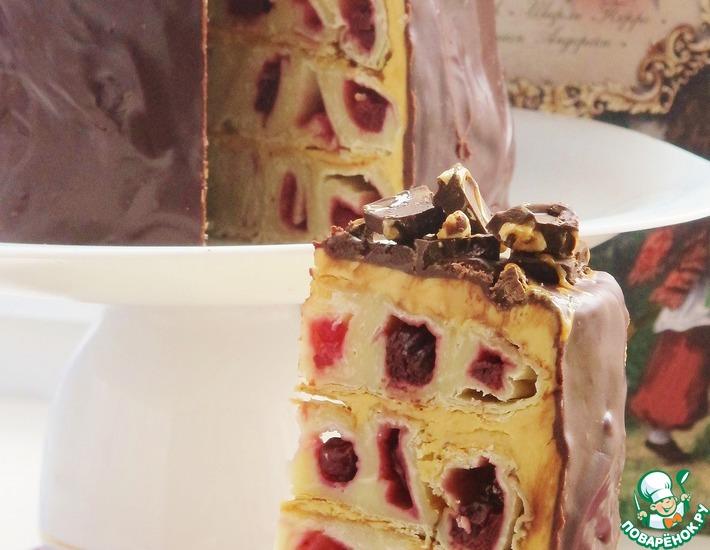 Рецепт: Торт Дружный дом