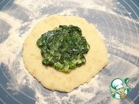 Картофельные лепешки со шпинатно-чесночной начинкой ингредиенты