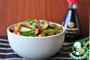 Рецепт Овощное рагу по-бирмански