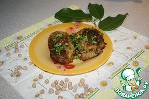Рецепт Котлеты из нута с грибами