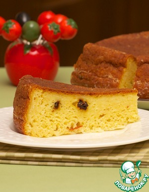 Рецепт Сырно-кукурузный пирог из мультиварки
