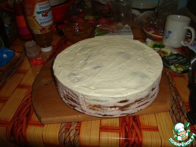Торт горка как украсить