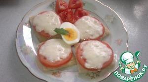 Рецепт Потапцы с помидорами