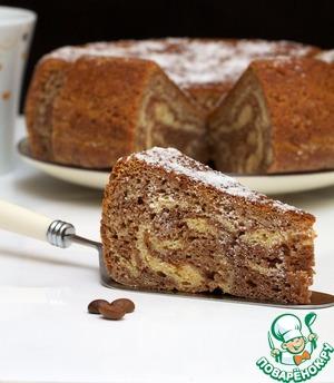 Рецепт Мраморный пирог из мультиварки
