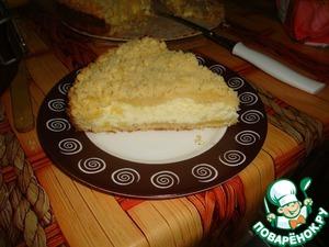 Рецепт Творожный пирог с крошкой
