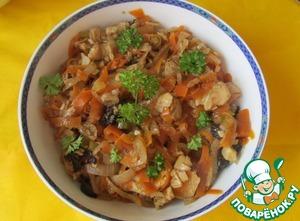 Рецепт Рыба в пряном маринаде