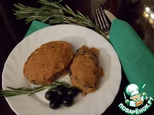 Рецепт Баклажанные горячие бутерброды
