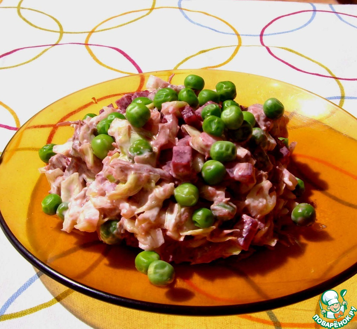 Салат из вареной говядины с фото