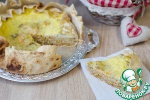 Рецепт Пирог-запеканка с капустой