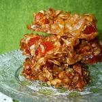 Рисовые козинаки с тропическими вялеными фруктами