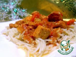 Готовим Гуляш из курицы в МВ вкусный рецепт приготовления с фотографиями