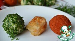 Рецепт Картофельные шарики с хреном