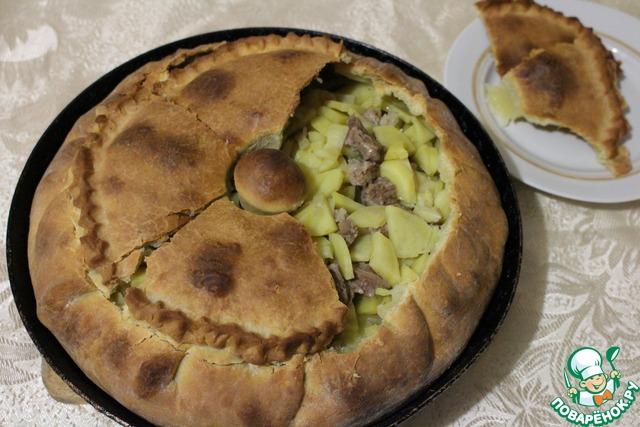 Название татарские пирожки с мясом и картошкой рецепт