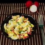 Салат из редиса без майонеза