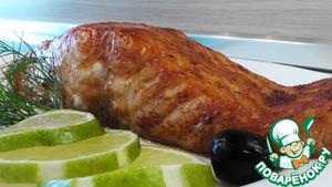 Рецепт Лосось глазированный с имбирем и лаймом