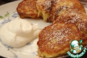 Рецепт Яблочные оладьи с гречневой мукой