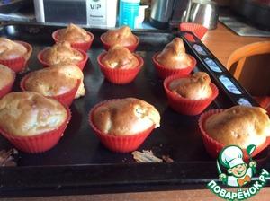 Как приготовить простой рецепт приготовления с фотографиями Яблочные Маффины