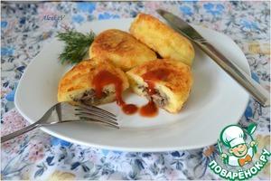 Рецепт Сырники с грибной начинкой