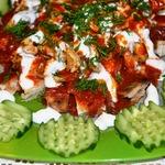 Искандер кебаб. Турецкая кухня