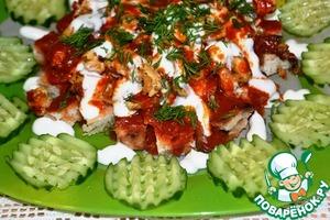 Рецепт Искандер кебаб. Турецкая кухня