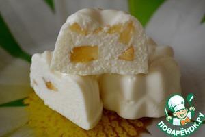 Рецепт Бланманже творожно-банановое
